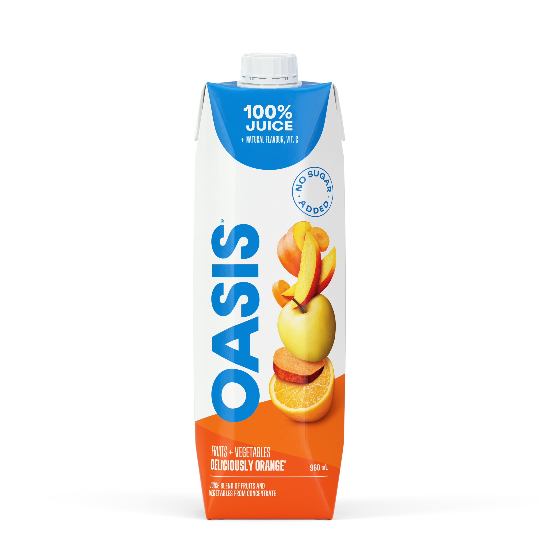 OASIS                          DELICIOUSLY ORANGE Prisma Tetra 960mL